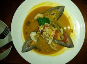 什锦海鲜汤