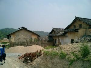 2003年当時の楊四妹の家