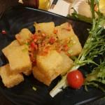 干し貝柱と大根餅の炒め (2)