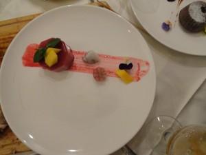 混合果莓(蓝莓草莓树莓)慕斯
