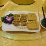 炸豆腐拼粿肉