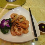特色烤咸虾