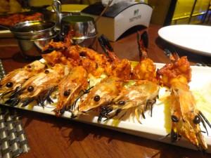 tandoor prawns